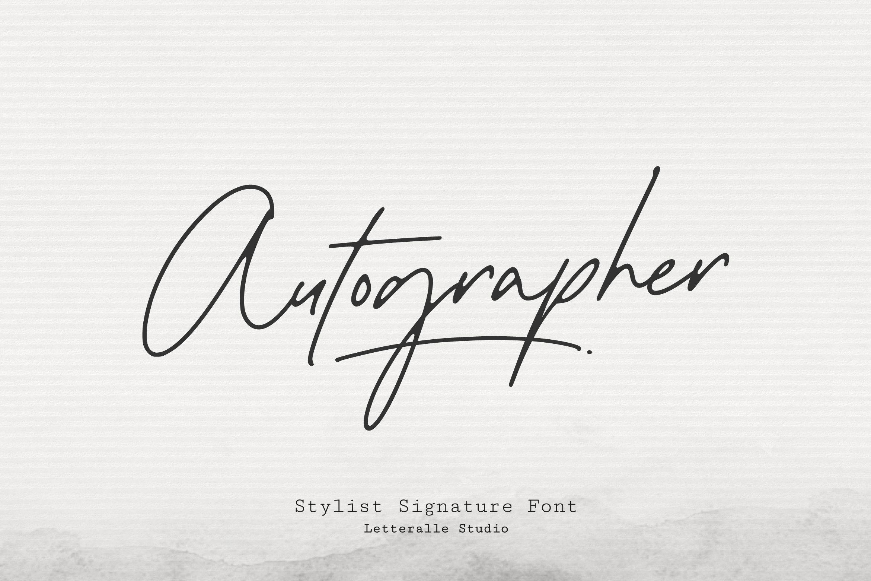 1 - Bhranta Ali-Autographer