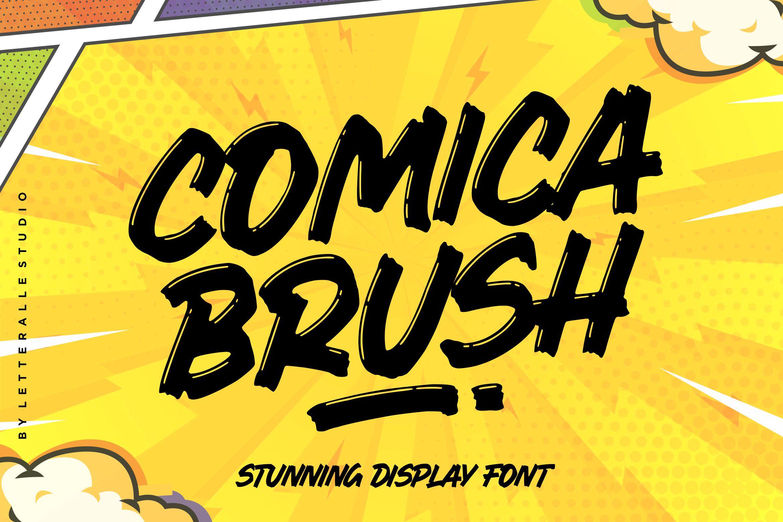 1 - Bhranta Ali-Comica Brush