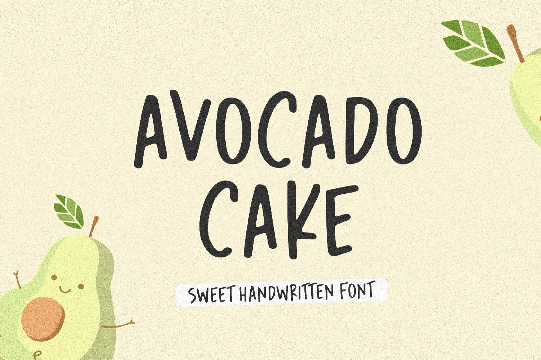 Avocado Cake 1-01 - Bhranta Ali
