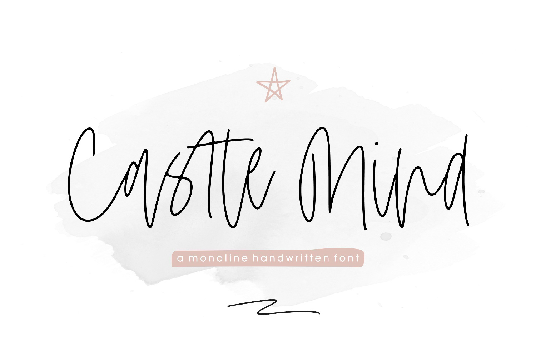Castle Mind Font 1-01 - Bhranta Ali