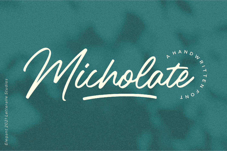 Micholate 1-01 - Bhranta Ali